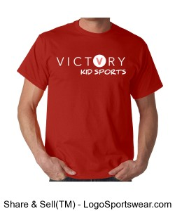 VICTORY KID SPORTS MEN'S COACH SHIRT Design Zoom