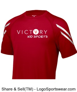 VICTORY KID SPORTS V DRY FIT SHIRT Design Zoom