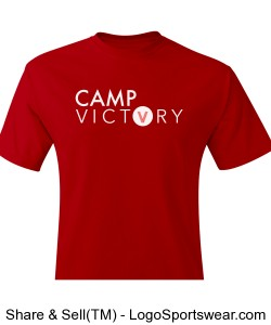 CAMP VICTORY RED T SHIRT Design Zoom