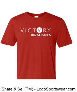 Victory Kid Sports League Shirt - Youth Design Zoom